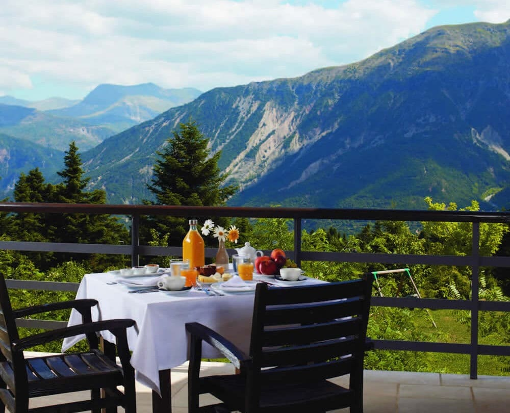 Orizontes mountains breakfast
