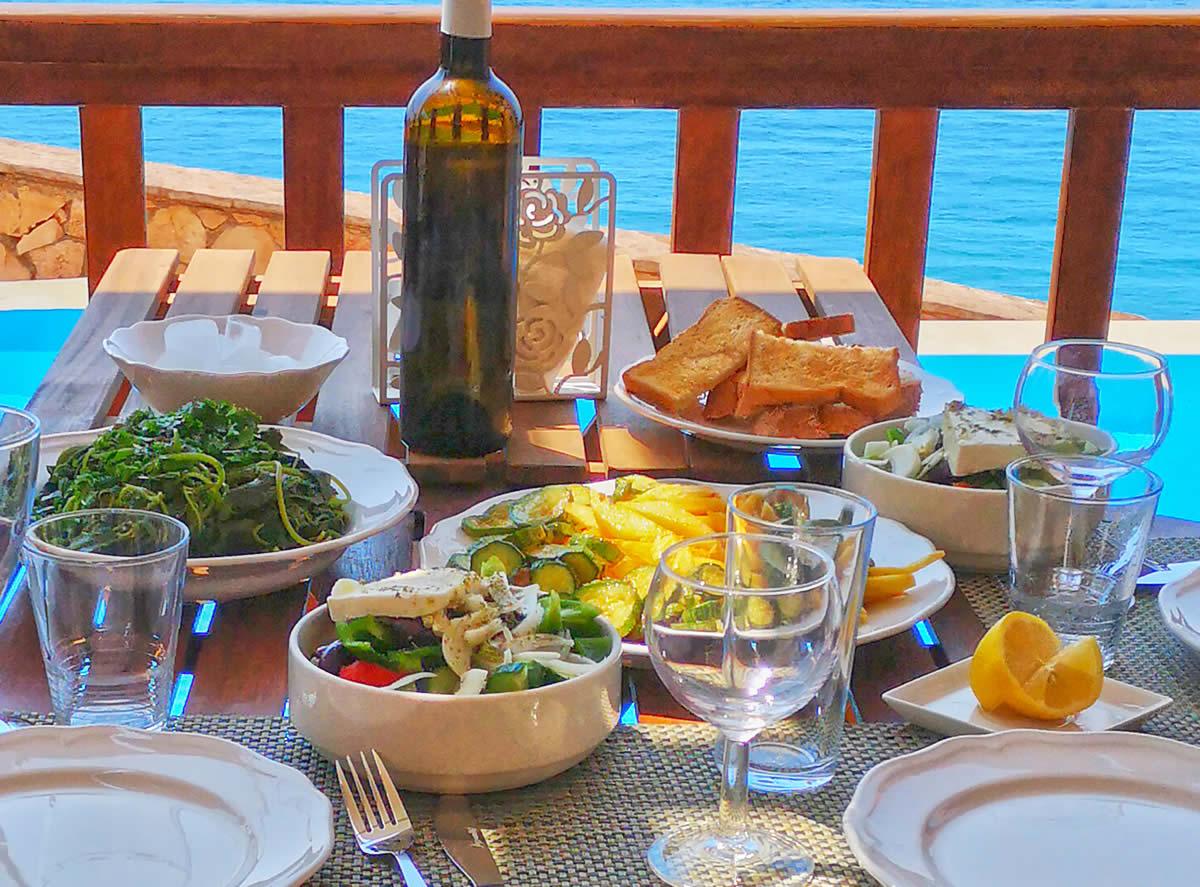 Mediterranean food Mylos