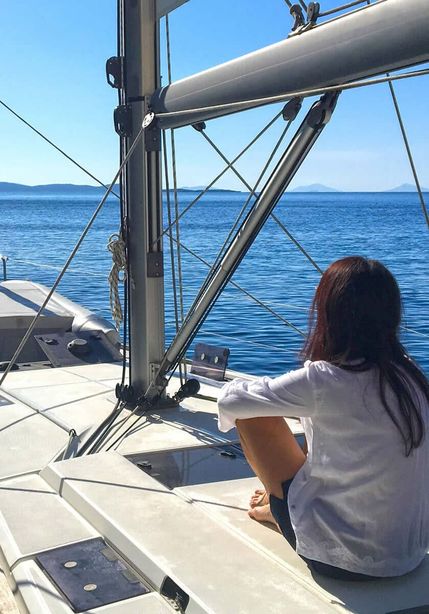 Sailing Lefkas